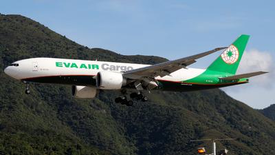 B-16785 - Boeing 777-F - Eva Air Cargo