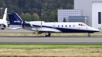N114BD - Bombardier Learjet 60 - Wheels Up