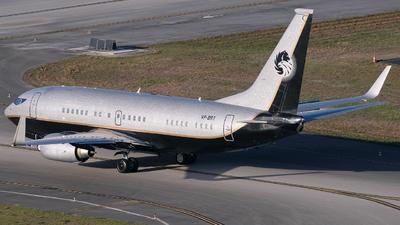 VP-BRT - Boeing 737-7BC(BBJ) - Private