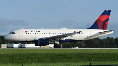 A picture of N340NB - Airbus A319114 - Delta Air Lines - © DJ Reed - OPShots Photo Team