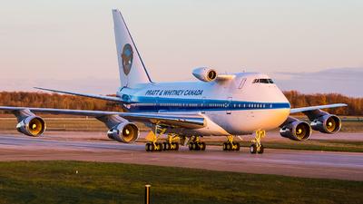 C-GTFF - Boeing 747SP-B5 - Pratt & Whitney Canada