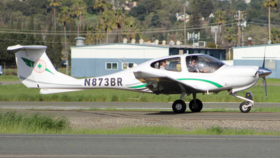 N873BR - Diamond DA-40 Diamond Star - EVA Flight Training Academy