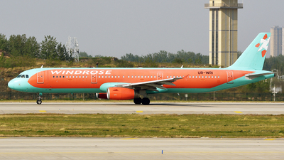 UR-WRI - Airbus A321-231 - Windrose Airlines