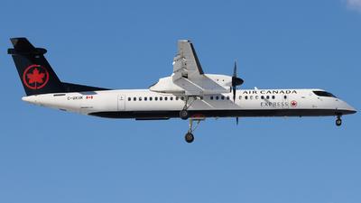 A picture of CGKUK - De Havilland Canada Dash 8400 - Air Canada - © Shon Fridman