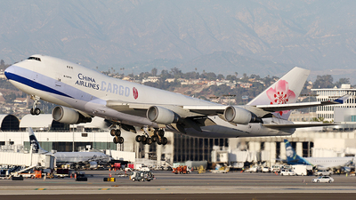 B-18706 - Boeing 747-409F(SCD) - China Airlines Cargo