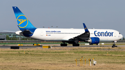 A picture of DABUK - Boeing 767343(ER) - Condor - © Jensen Han