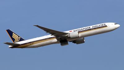 9V-SWT - Boeing 777-312(ER) - Singapore Airlines - Flightradar24