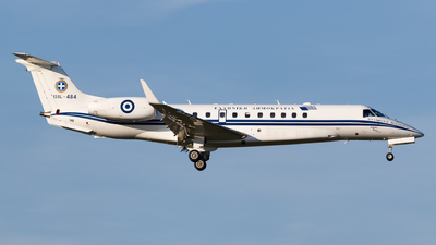 135L-484 - Embraer ERJ-135BJ Legacy - Greece - Air Force