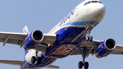 VT-IFD - Airbus A320-232 - IndiGo Airlines