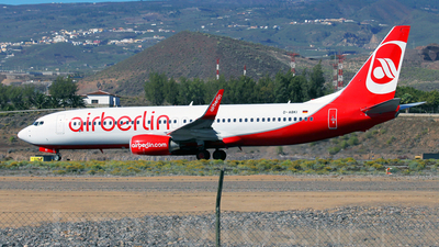 D-ABKI - Boeing 737-86J - Air Berlin