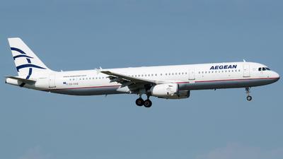 SX-DVO - Airbus A321-231 - Aegean Airlines