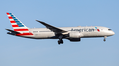 A picture of N807AA - Boeing 7878 Dreamliner - American Airlines - © Marvin Knitl