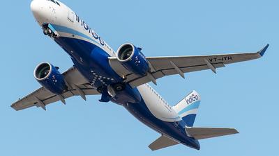 A picture of VTITH - Airbus A320271N - IndiGo - © Sanskar nawani