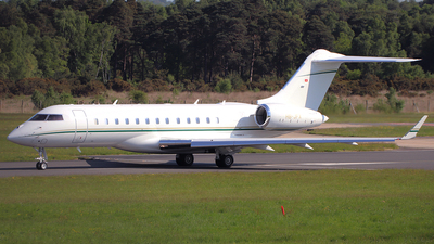 HB-JFX - Bombardier BD-700-1A10 Global 6000 - Private