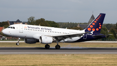 OO-SSS - Airbus A319-111 - Brussels Airlines