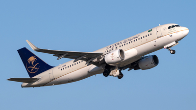 HZ-AS58 - Airbus A320-214 - Saudi Arabian Airlines