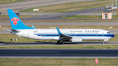 A picture of B1980 - Boeing 73786N - China Southern Airlines - © Yan Shuai