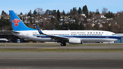 B-1362 - Boeing 737-81B - China Southern Airlines