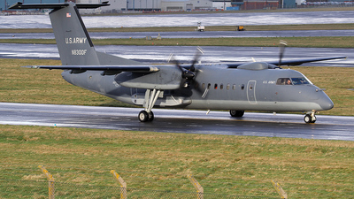 A picture of N8300F - De Havilland Canada Dash 8300 - [338] - © Ian Howat