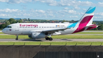 A picture of DAGWD - Airbus A319132 - Eurowings - © marfi80