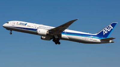 A picture of JA872A - Boeing 7879 Dreamliner - All Nippon Airways - © Thomas Ernst