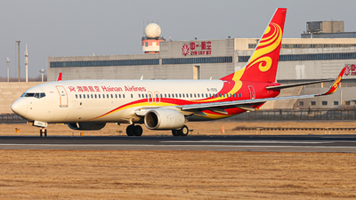 A picture of B1502 - Boeing 73784P - Hainan Airlines - © ShenYang Doll