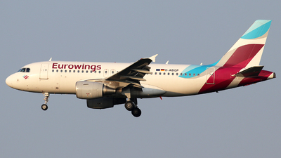 A picture of DABGP - Airbus A319112 - Eurowings - © Alberto Cucini