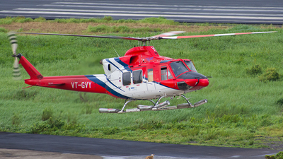 VT-GVY - Bell 412EP - Global Vectra Helicorp