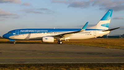 D-ABBZ - Boeing 737-85F - Aerolíneas Argentinas