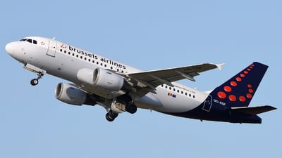 OO-SSF - Airbus A319-111 - Brussels Airlines