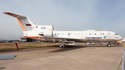 42440 - Yakovlev Yak-42D - Roshydromet