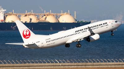 A picture of JA10RK - Boeing 7378Q3 - Japan Transocean Air - © Joe Masui