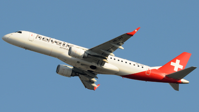 HB-JVV - Embraer 190-100LR - Helvetic Airways