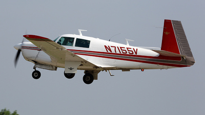 A picture of N7155V - Mooney M20E - [210050] - © Paul Chandler