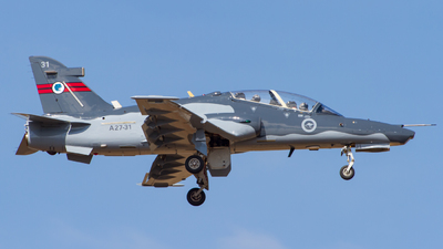 A27-31 - British Aerospace Hawk Mk.127 Lead-In Fighter - Australia - Royal Australian Air Force (RAAF)