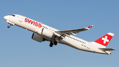 A picture of HBJCB - Airbus A220300 - Swiss - © kevin.hackert