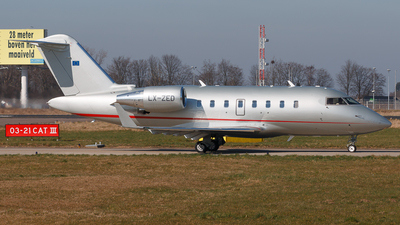 LX-ZED - Bombardier CL-600-2B16 Challenger 605 - Private