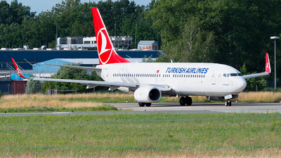A picture of TCJHK - Boeing 7378F2 - Turkish Airlines - © Spotter BRE