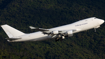 A picture of 4XICB - Boeing 747412(F) - CAL Cargo Airlines - © Clyde-