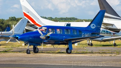 A picture of GIMEC - Piper PA31 Navajo - [317512017] - © Maxence GRAF - Aeronantes Spotters