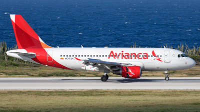 HC-CSA - Airbus A319-115 - Avianca Ecuador