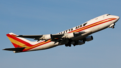 N706CK - Boeing 747-4B5F(SCD) - Kalitta Air