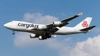 LX-JCV - Boeing 747-4EVERF - Cargolux Airlines International