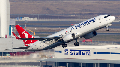 A picture of TCJZE - Boeing 7378F2 - Turkish Airlines - © Eren Erol