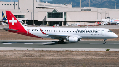HB-JVO - Embraer 190-100LR - Helvetic Airways