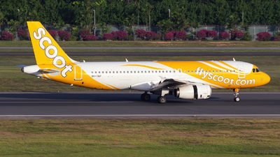 A picture of 9VTRP - Airbus A320232 - Scoot - © Jun You