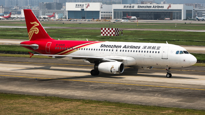 A picture of B6935 - Airbus A320232 - Shenzhen Airlines - © Jack Green