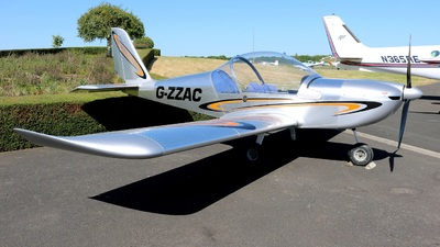G-ZZAC - Evektor-Aerotechnik EV97 Eurostar - Private