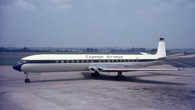G-APMB - De Havilland DH-106 Comet 4B - Channel Airways