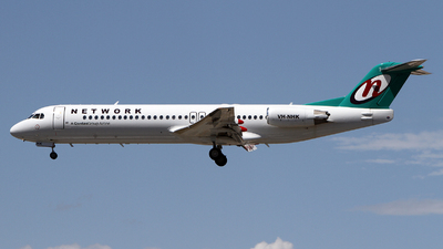 VH-NHK - Fokker 100 - Network Aviation